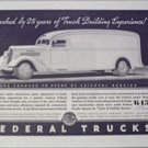 1935 Federal Truck ad