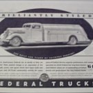 1935 Federal Tanker Truck ad
