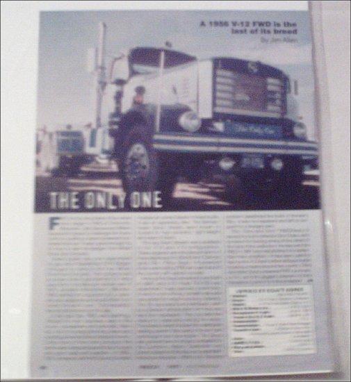 1956 FWD T6-415D Truck Drive Report