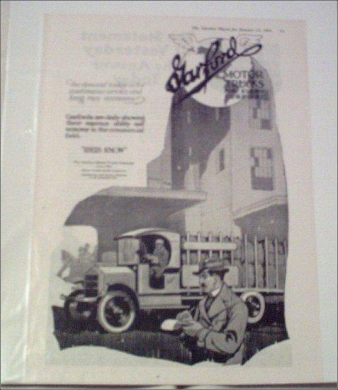1919 Garford Truck ad #3