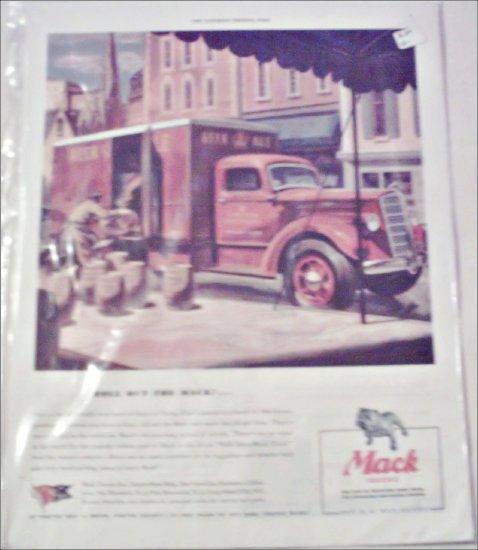 1944 Mack Beer Truck ad