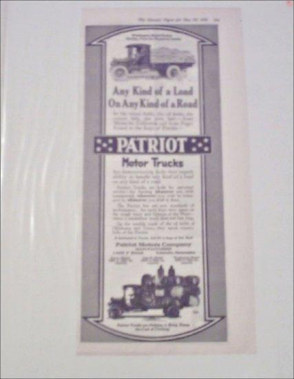 1920 Patriot Truck ad
