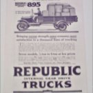 1917 Republic Truck ad #1