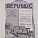 1917 Republic Truck ad #2