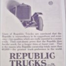 1920 Republic Truck ad #3