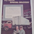 1950 Trailmobile Truck ad