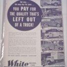 White Truck ad