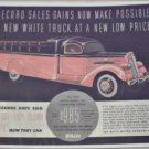 1937 White Model 700 Truck ad