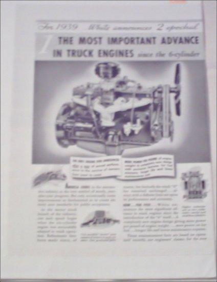1939 White Truck ad
