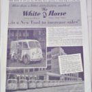 1940 White Horse Delivery Van ad #1