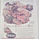 1941 White Dump Truck ad