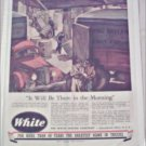 1944 White Tractor Trailer Truck ad