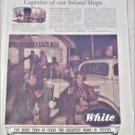 WW II White Truck ad