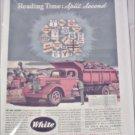 1946 White Dump Truck ad