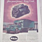 1946 White Coal Truck ad
