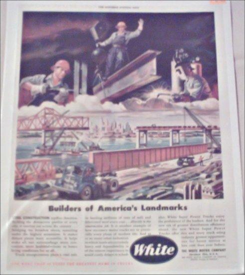 1946 White Truck ad #2