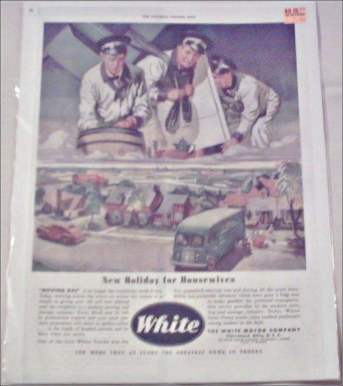 1946 White Delivery Van ad