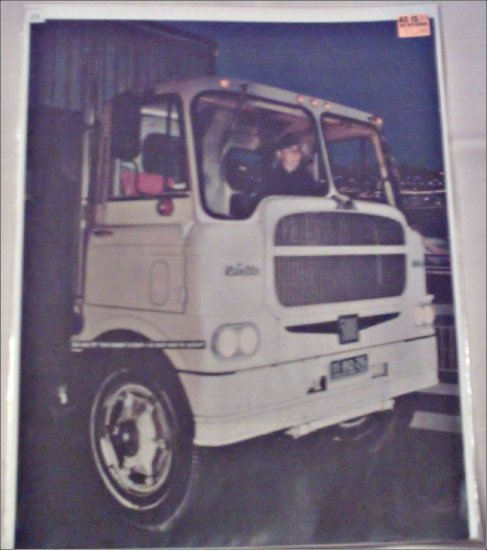 1958 White 5000 Tractor Trailer Truck ad