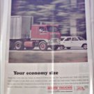 1966 White Tractor Trailer ad