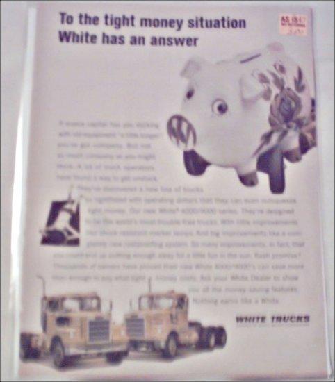 1967 White Tractor Trailer ad #2
