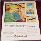 1958 Whirpool Dryer ad