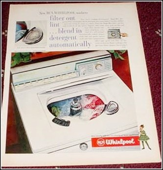 1960 Whirpool Washer ad