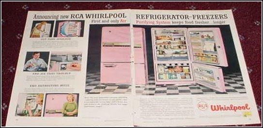 1957 Whirpool Refrigerator ad
