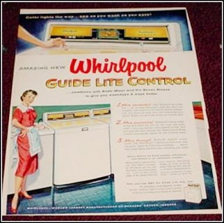 1955 Whirpool Washer Dryer ad