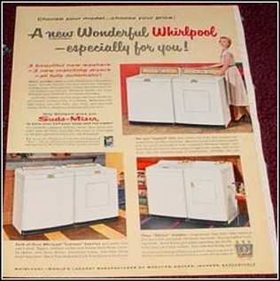 Whirpool Washer ad