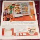1962 Western Auto Refrigerator ad
