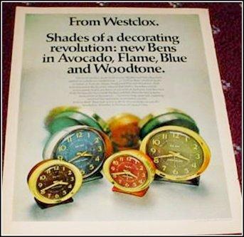 Westclox Big Ben ad #2
