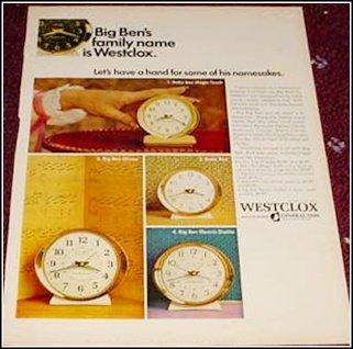 Westclox Big Ben ad #1