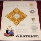 1960 Westclox ad