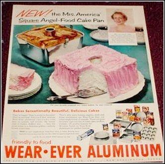 1956 Wearever Aluminum Pans ad