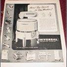 1948 Universal 2 Speed Wringer Washer ad