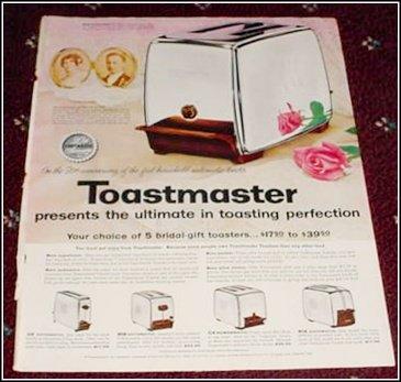 1956 Toastmaster Toaster ad
