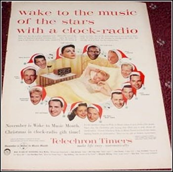 1956 Telechron Timer ad