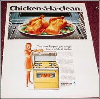 Tappan Gas Range ad