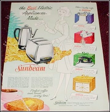 Sunbeam Appliances ad