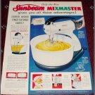 1949 Sunbeam Mixmaster ad