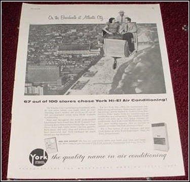 1956 York AC ad