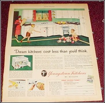 1948 Youngstown Kitchen ad