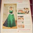 Singer Slantomatic Sewing Machine ad
