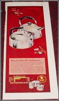 1956 Revere Teakettle ad