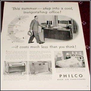 Philco AC ad