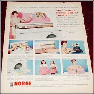 1959 Norge Washer ad