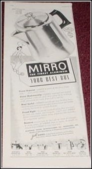 1952 Mirro Mini Percolator ad
