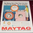 1958 Maytag Washer Dryer ad