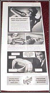 1940 Lovell Wringer Washer ad