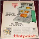 1960 Hotpoint Electric Range ad